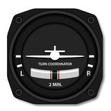 Aviation airplane turn balance indicator Stock Photography