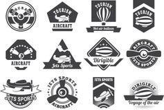 Aviation badges Stock Photos