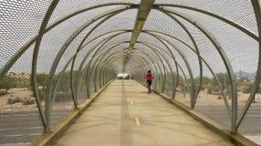 Aviation Bikeway and Rattlesnake Bridge, Tucson, Arizona Stock Photo