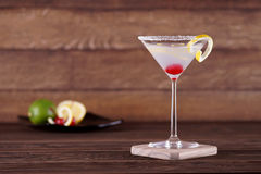 Aviation Cocktail Stock Photos