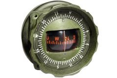 Aviation compass Stock Photography