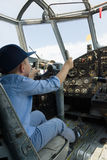 Aviation equipment in the open air Royalty Free Stock Photo