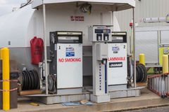 Aviation Fueling Station Stock Images