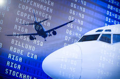Aviation industry Stock Photo