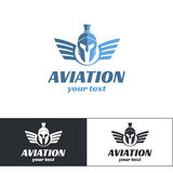 Aviation Logo Design Three Image stock