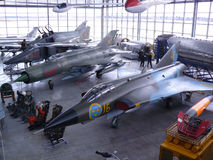 Aviation museum Munich, Germany Royalty Free Stock Photo