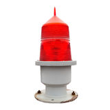 Aviation obstruction beacon stock image