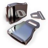 Aviation seat belt accessories Stock Photo