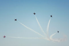 Aviation show Royalty Free Stock Images
