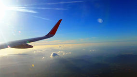 Aviation, Sky View, Sunset View Stock Image