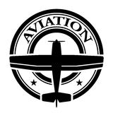 Aviation stamp Stock Photography