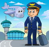 Aviation theme image 1. Eps10 vector illustration vector illustration
