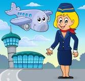 Aviation theme image 2 Royalty Free Stock Photography