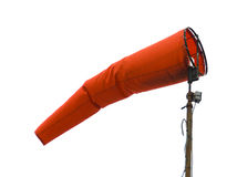 Aviation Windsock Stock Photo