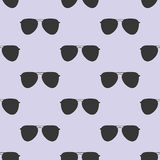 Aviator Glasses seamless pattern. Sun Glasses. Vector illustration Stock Photos