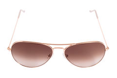 Aviator gradient sunglasses Stock Photos