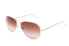 Aviator gradient sunglasses Stock Photography