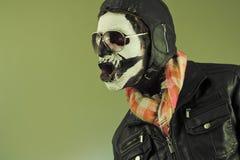 Aviator Skull Royalty Free Stock Photos