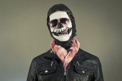 Aviator Skull Stock Photography