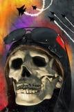 Aviator Skull Stock Images
