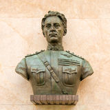 Aviator Statue in the City Stock Image