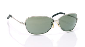 Aviator sunglasses isolated on white Royalty Free Stock Image