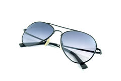 Aviator sunglasses isolated on white background Royalty Free Stock Photo