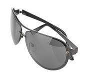 Aviator sunglasses isolated on white background Stock Image