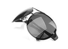 Aviator sunglasses isolated on white background Royalty Free Stock Image