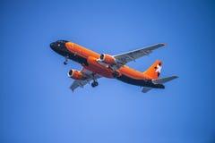 Aviatrans Kiev Ucraina, ur-dak, Airbus a320-211 Fotografie Stock Libere da Diritti