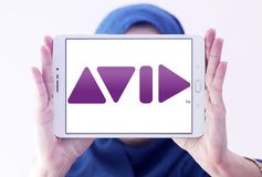 Avid Technology公司商标 免版税库存照片