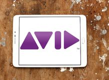 Avid Technology-bedrijfembleem royalty-vrije stock foto's