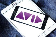Avid Technology firmy logo Royalty Ilustracja