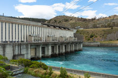 Aviemore hydro station Royalty Free Stock Photography