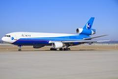 Avient班机DC-10 库存图片