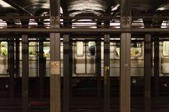 Aview da infraestrutura do metro de NY Fotos de Stock