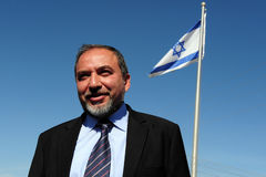 Avigdor Lieberman Fotos de Stock Royalty Free
