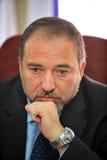 Avigdor Lieberman Fotografia de Stock Royalty Free