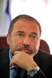Avigdor Lieberman Imagem de Stock