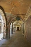 avigliana意大利中世纪拱形屋顶 库存照片