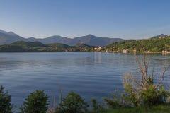 Avigliana lakes. Val di Susa. Piedmont. Italy. Stock Photography
