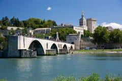 Avignon. The Bridge at Avignon, Provence, France a world heritage site Royalty Free Stock Photo