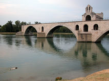 Avignon. France, the ancient bridge of Avignon Stock Photography