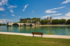 Avignon-Brücke Stockfoto
