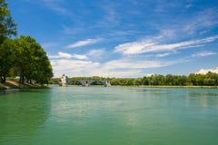 Avignon-Brücke Stockfotos