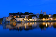 Avignon-Brücke Lizenzfreie Stockfotos