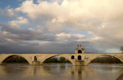 Avignon bridge Royalty Free Stock Photography