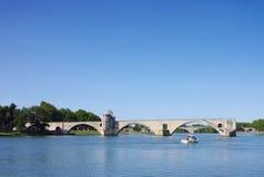Avignon Bridge Stock Image