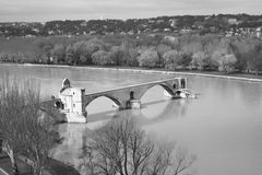 Avignon bridge, France - Pont d'Avignon Royalty Free Stock Photo