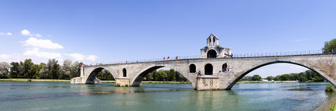 Avignon Bridge (Pont d'Avignon,France) Royalty Free Stock Images